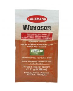 LALLEMAND dried brewing yeast Windsor Ale, 11 g