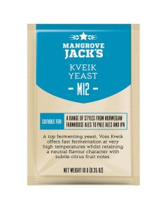 Dried brewing yeast Kveik M12 - Mangrove Jack's Craft Series - 10 g