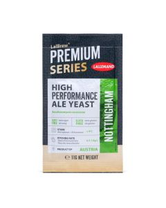 LALLEMAND LalBrew® Premium dried brewing yeast Nottingham Ale - 11 g