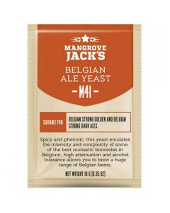 Dried brewing yeast Belgian Ale M41 - Mangrove Jack's Craft Series - 10 g