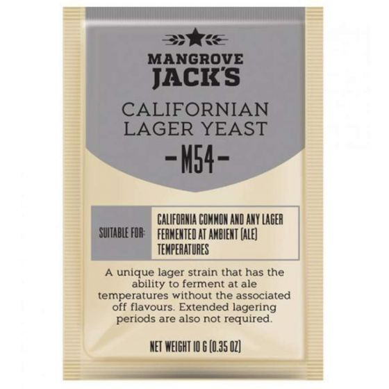 Dried brewing yeast Californian Lager M54 - Mangrove Jack's Craft Series - 10 g